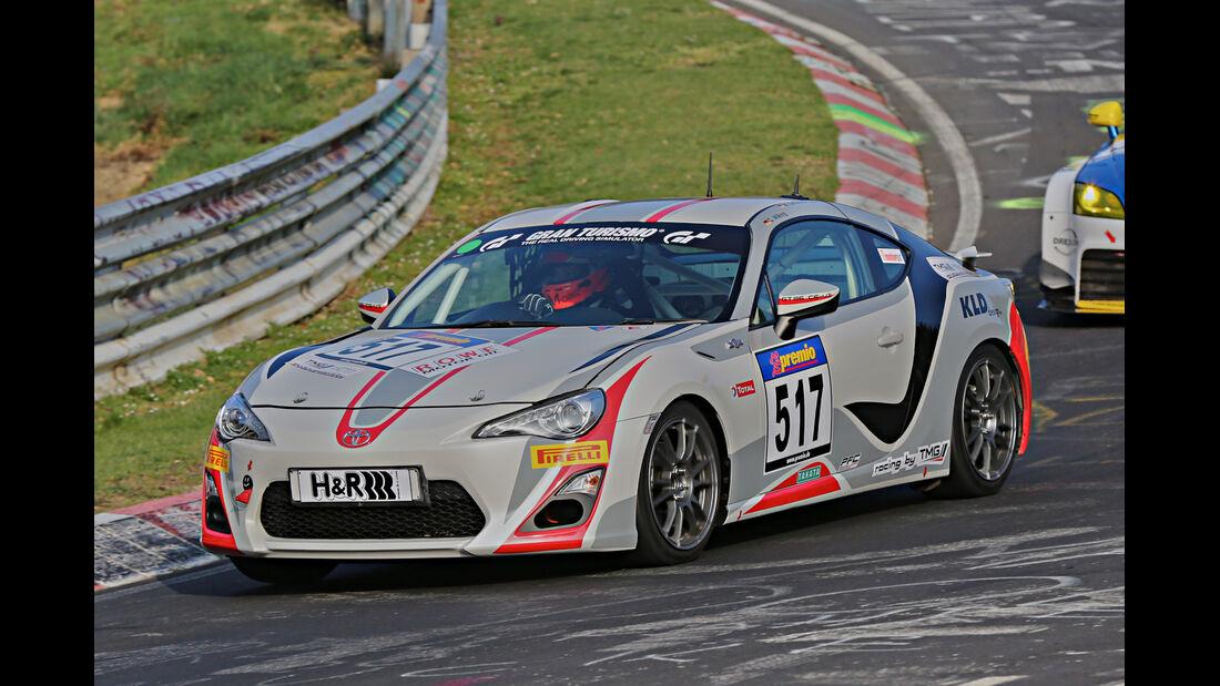 VLN 2014, #517, Toyota GT86, V3, Langstreckenmeisterschaft Nürburgring