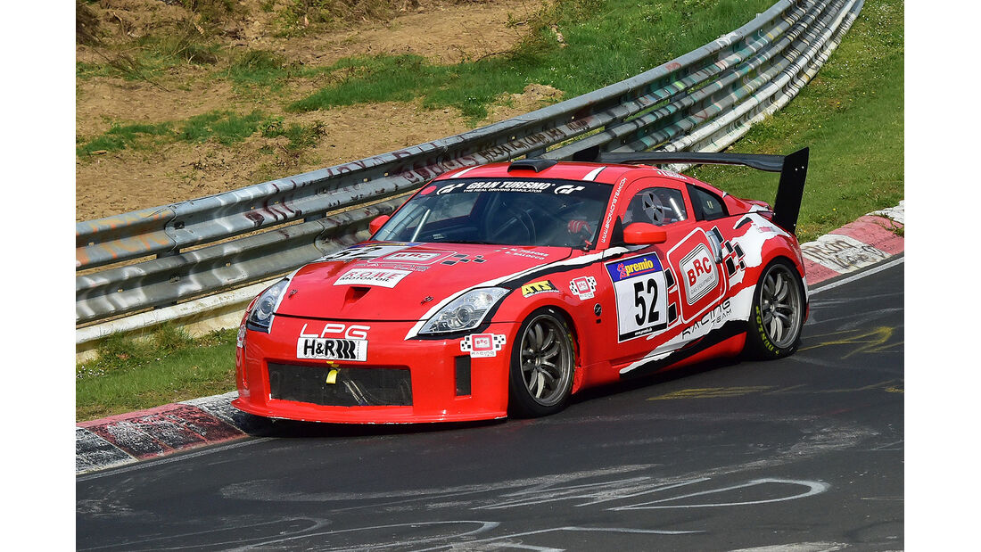 VLN 2014, #52, Nissan 350Z, SPAT, Langstreckenmeisterschaft Nürburgring