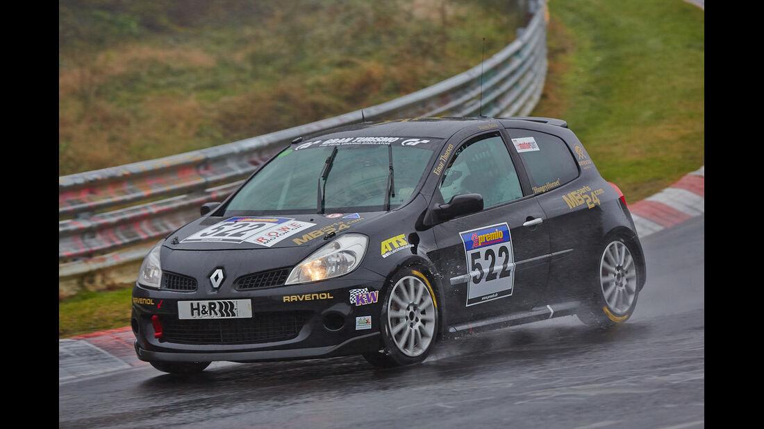 VLN 2014, #522, Renault Clio 3 RS, V3, Langstreckenmeisterschaft Nürburgring