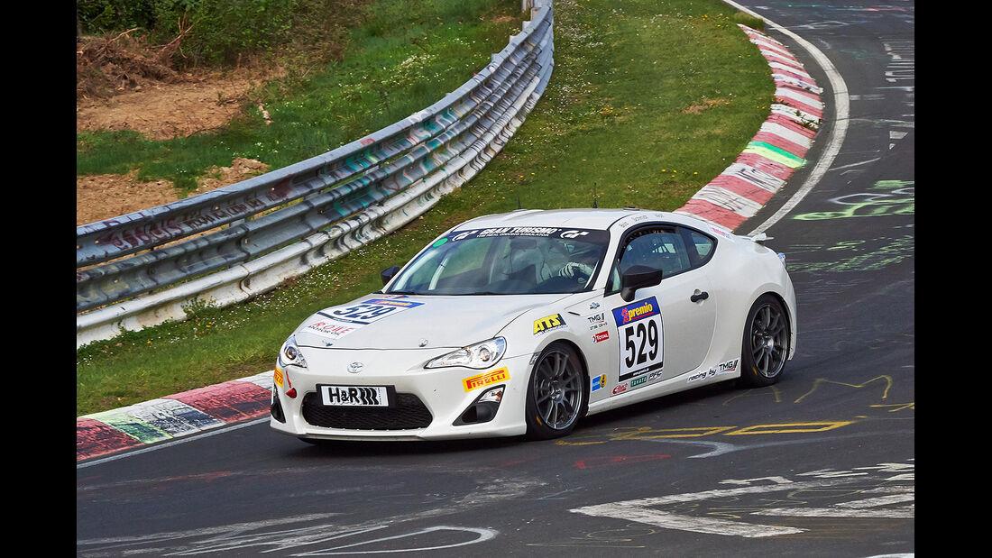 VLN 2014, #529, Toyota TMG GT86 Cup, CUP4, Langstreckenmeisterschaft Nürburgring