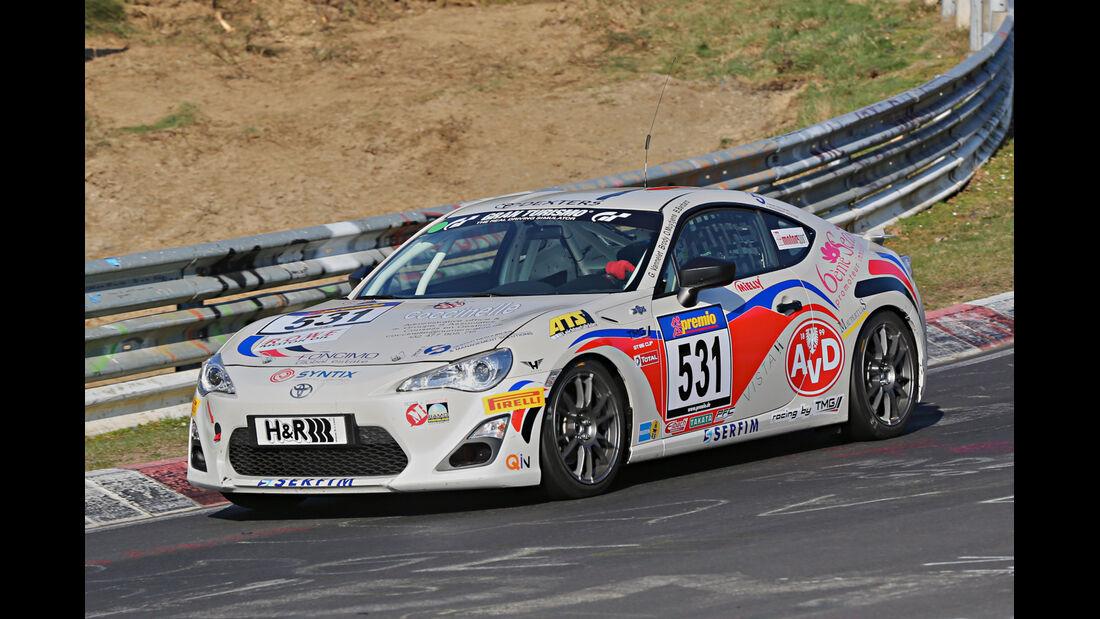 VLN 2014, #531, Toyota GT86 CUP, CUP4, Langstreckenmeisterschaft Nürburgring