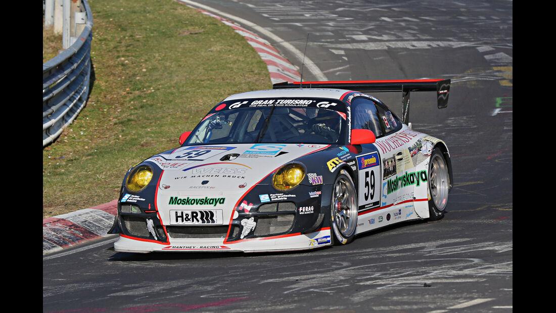 VLN 2014, #59, Porsche 911 GT3 RSR, SP7, Langstreckenmenmeisterschaft Nürburgring