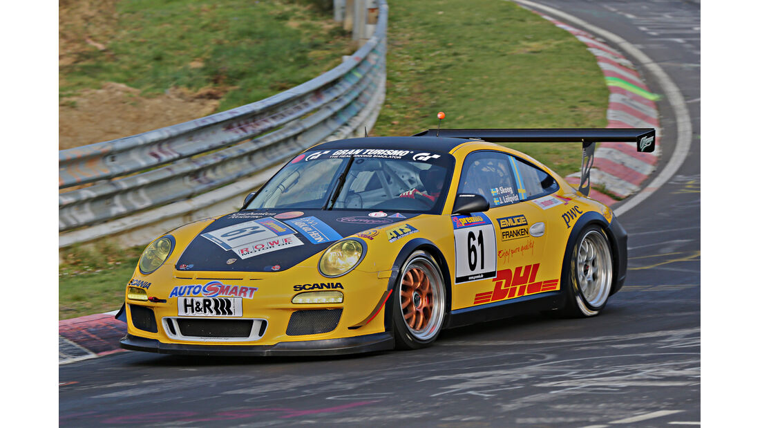 VLN 2014, #61, Porsche 911 GT3 Cup, SP7, Langstreckenmeisterschaft Nürburgring