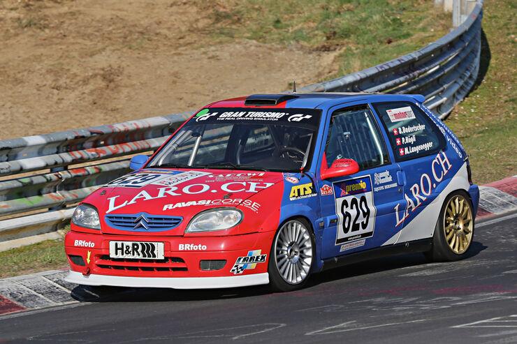 VLN 2014, #629, Citroen Saxo VTS, H1, Langstreckenmeisterschaft Nürburgring