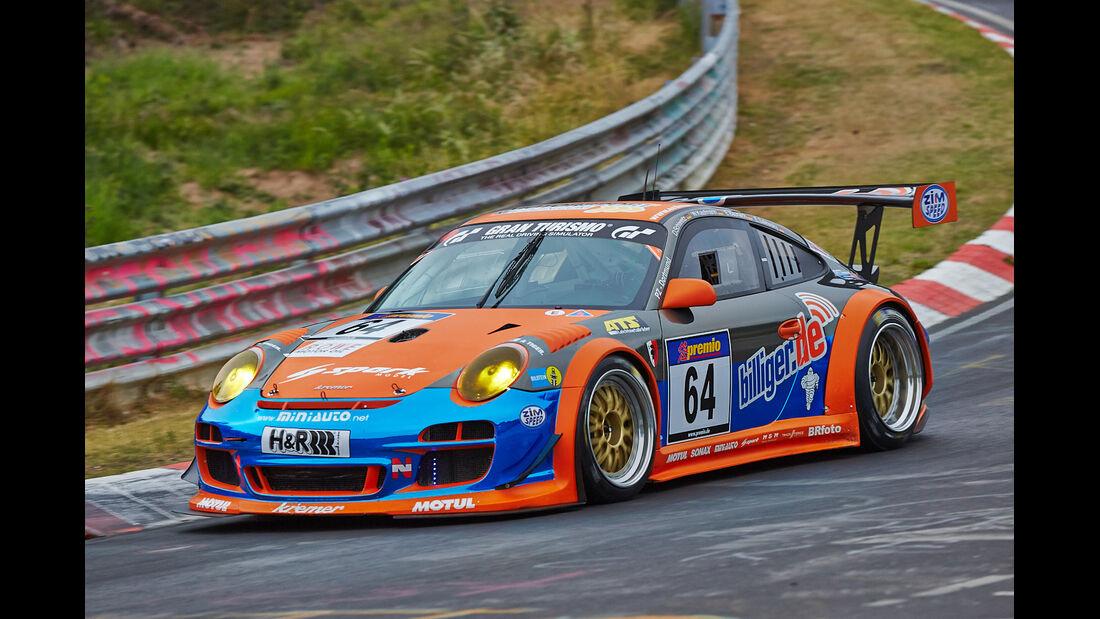 VLN 2014, #64, Porsche 911 GT3 KR, SP7, Langstreckenmeisterschaft Nürburgring