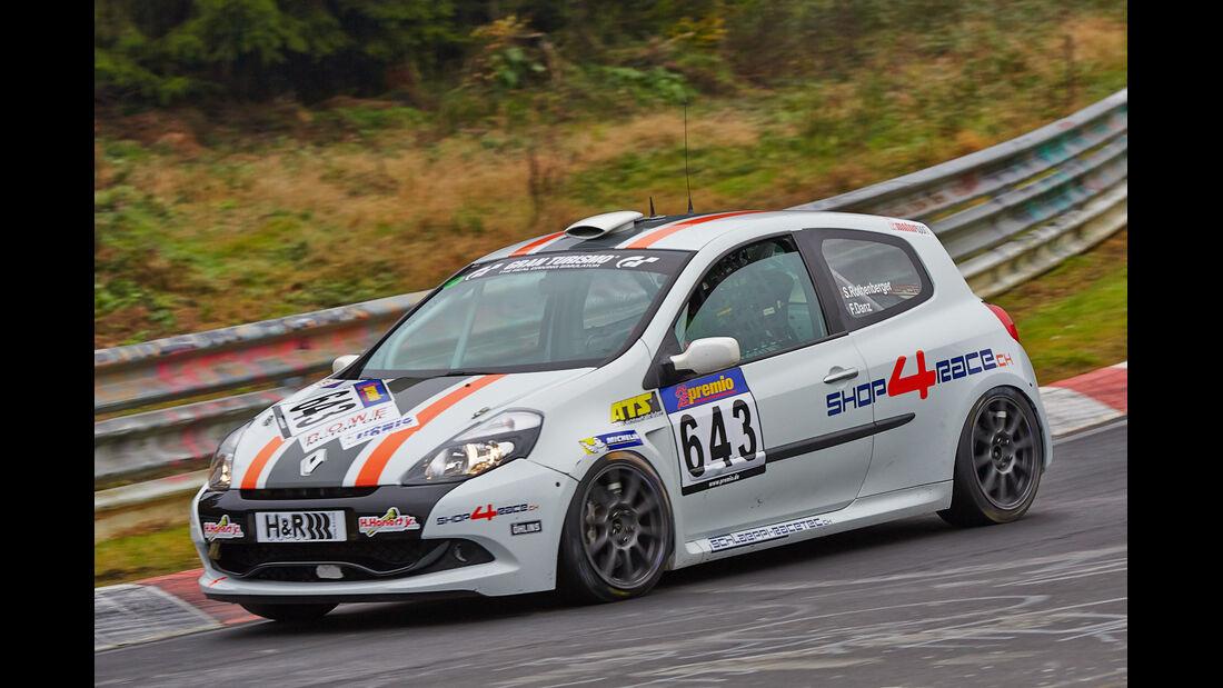 VLN 2014, #643, Renault Clio Cup, Cup3, Langstreckenmeisterschaft Nürburgring