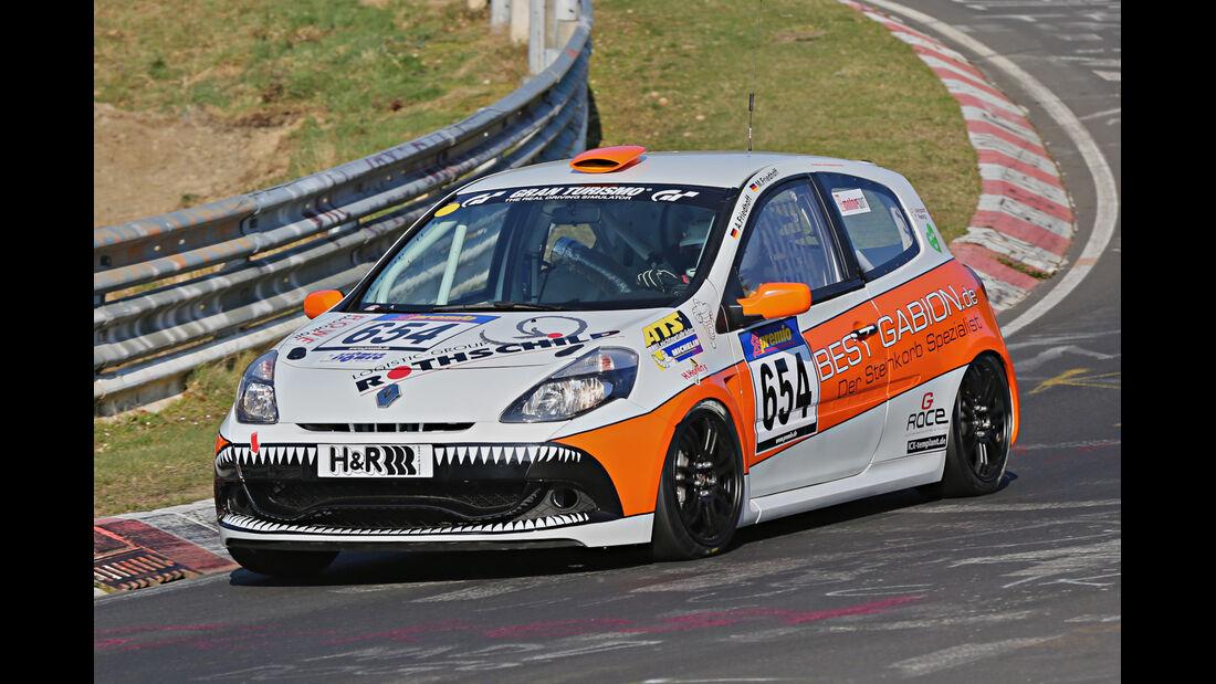 VLN 2014, #654, Renault Clio CUP, CUP3, Langstreckenmeisterschaft Nürburgring