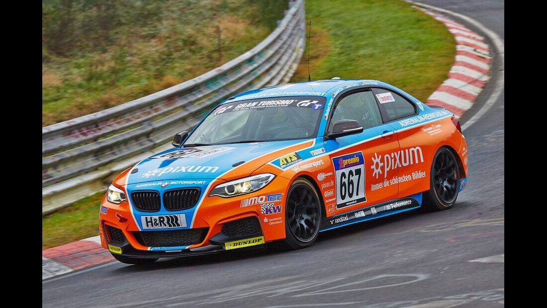 VLN 2014, #667, BMW M235i Racing, Cup5, Langstreckenmeisterschaft Nürburgring