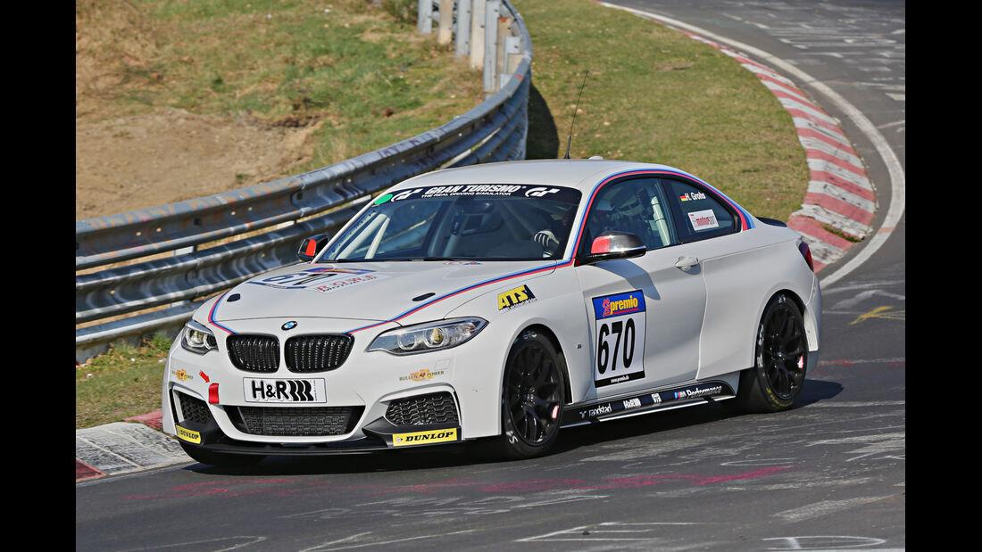 VLN 2014, #670, BMW 235i CUP, CUP5, Langstreckenmeisterschaft Nürburgring