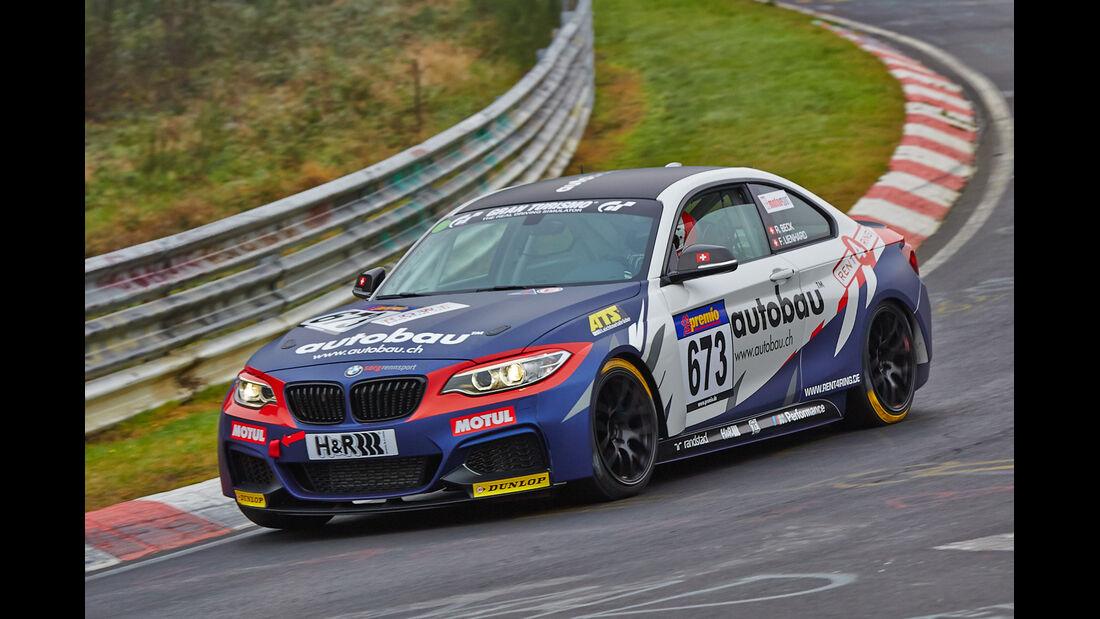 VLN 2014, #673, BMW M235i Racing, Cup5, Langstreckenmeisterschaft Nürburgring