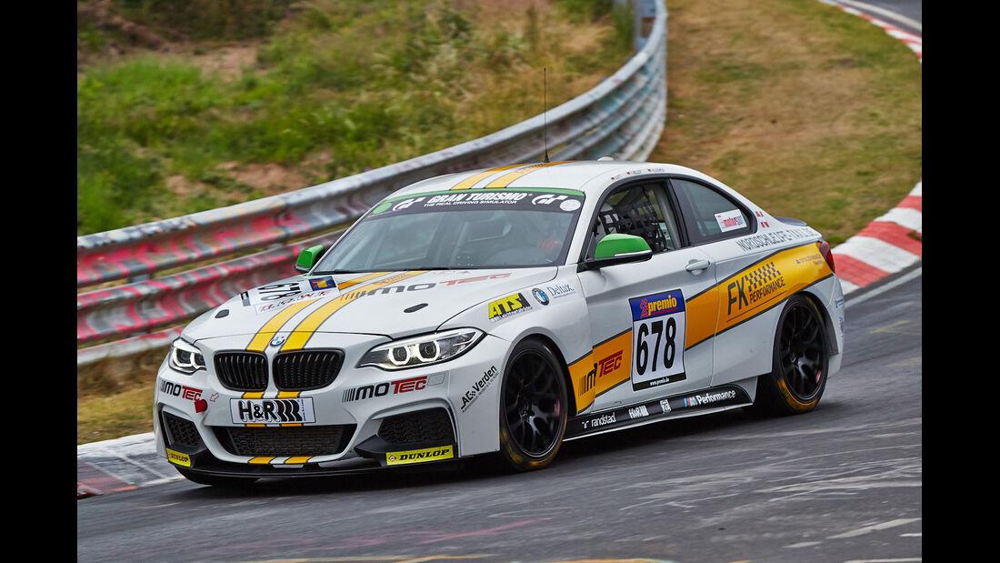 VLN 2014, #678, BMW M235i Racing, CUP5, Langstreckenmeisterschaft Nürburgring
