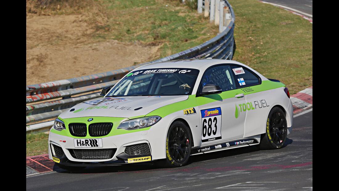 VLN 2014, #679, BMW 235i CUP, CUP5, Langstreckenmeisterschaft Nürburgring