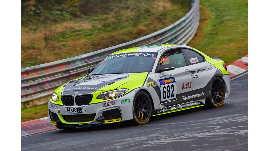 VLN 2014, #682, BMW M235i Racing, Cup5, Langstreckenmeisterschaft Nürburgring