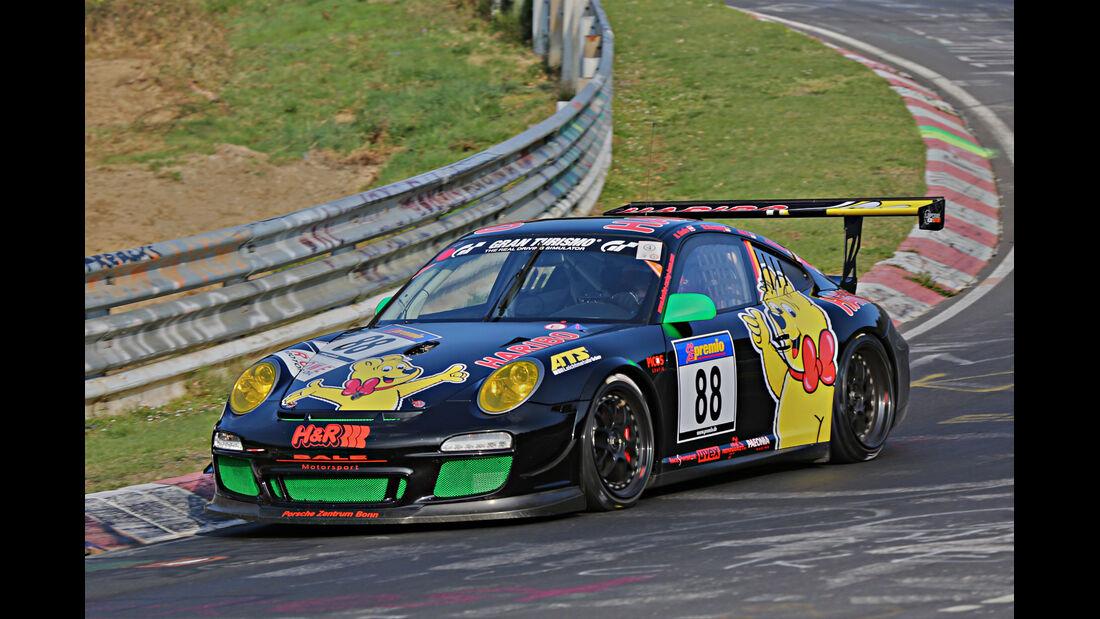 VLN 2014, #88, Porsche 911 GT3 Cup, SP7, Langstreckenmeisterschaft Nürburgring
