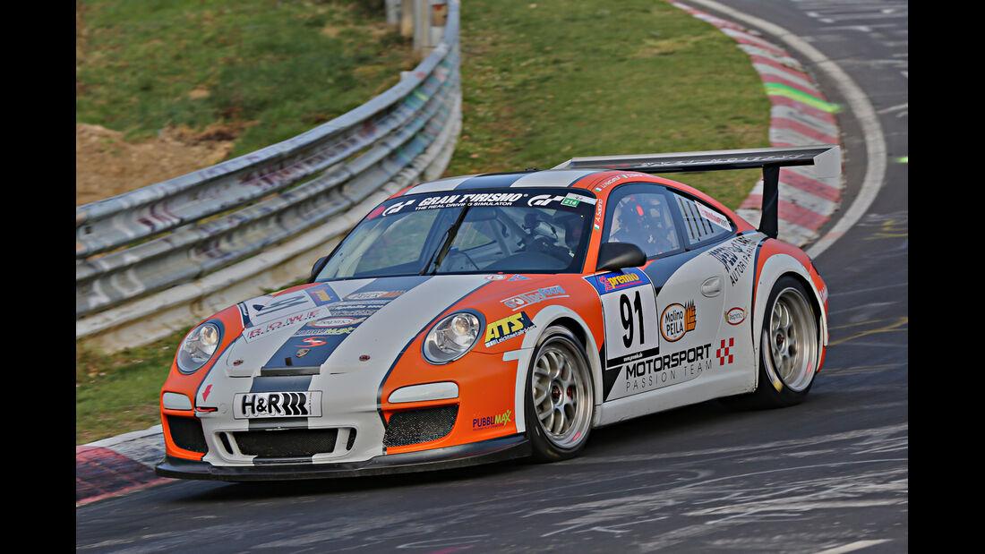 VLN 2014, #91, Porsche 911 GT3 Cup, SP7, Langstreckenmeisterschaft Nürburgring