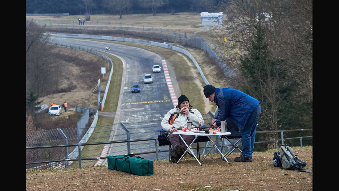 VLN 2015 - Langstreckenmeisterschaft Nürburgring - Nordschleife - Test- und Einstellfahrten - 14. März 2015
