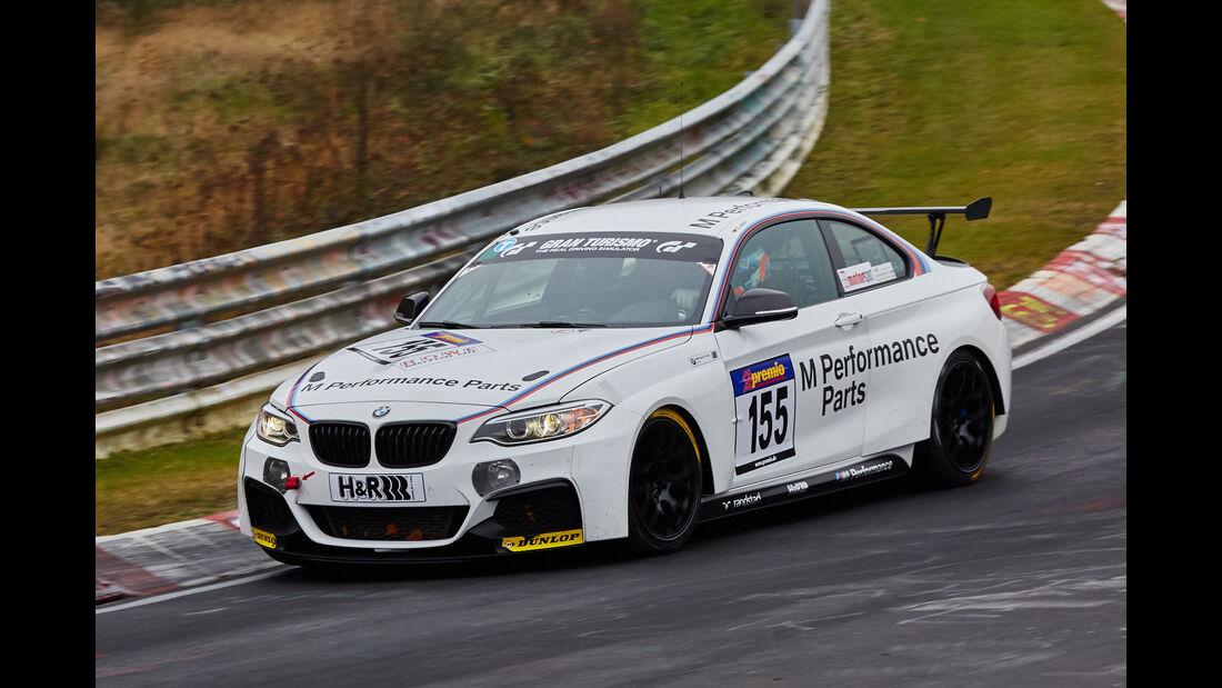 VLN 2015 - Nürburgring - BMW 235i - Startnummer #155 - SP8T