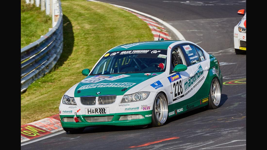 VLN 2015 - Nürburgring - BMW 330i - Startnummer #228 - SP5