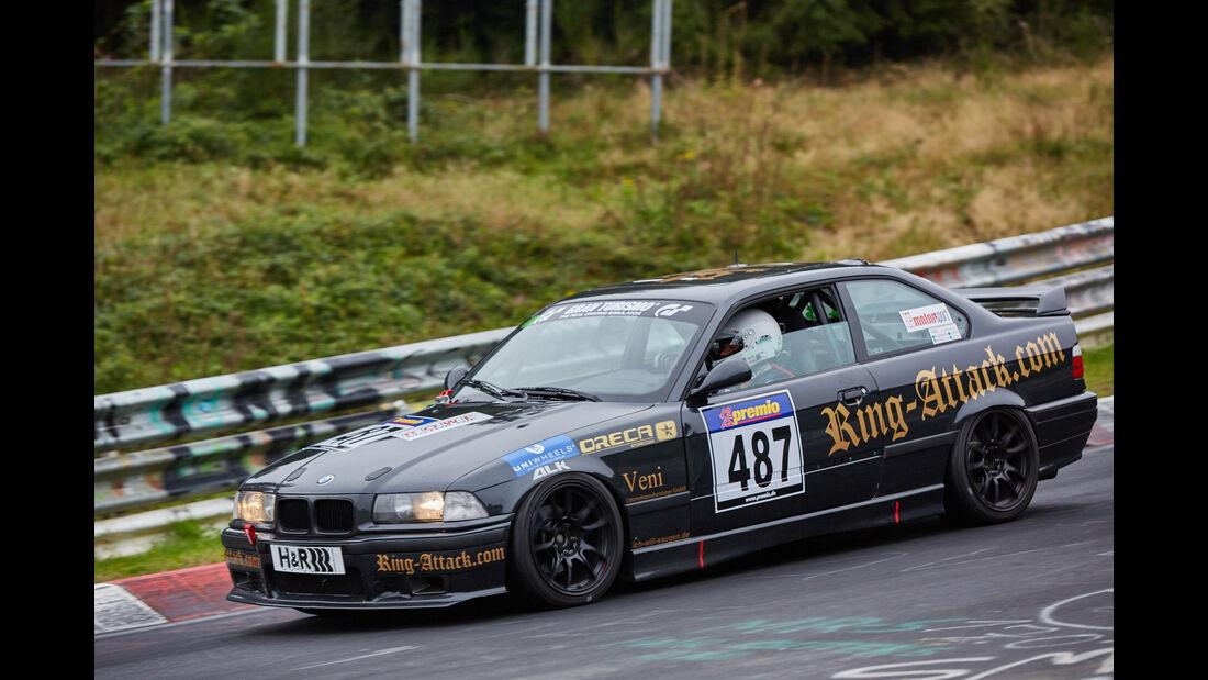 VLN 2015 - Nürburgring - BMW E36 325 - Startnummer #487 - V4
