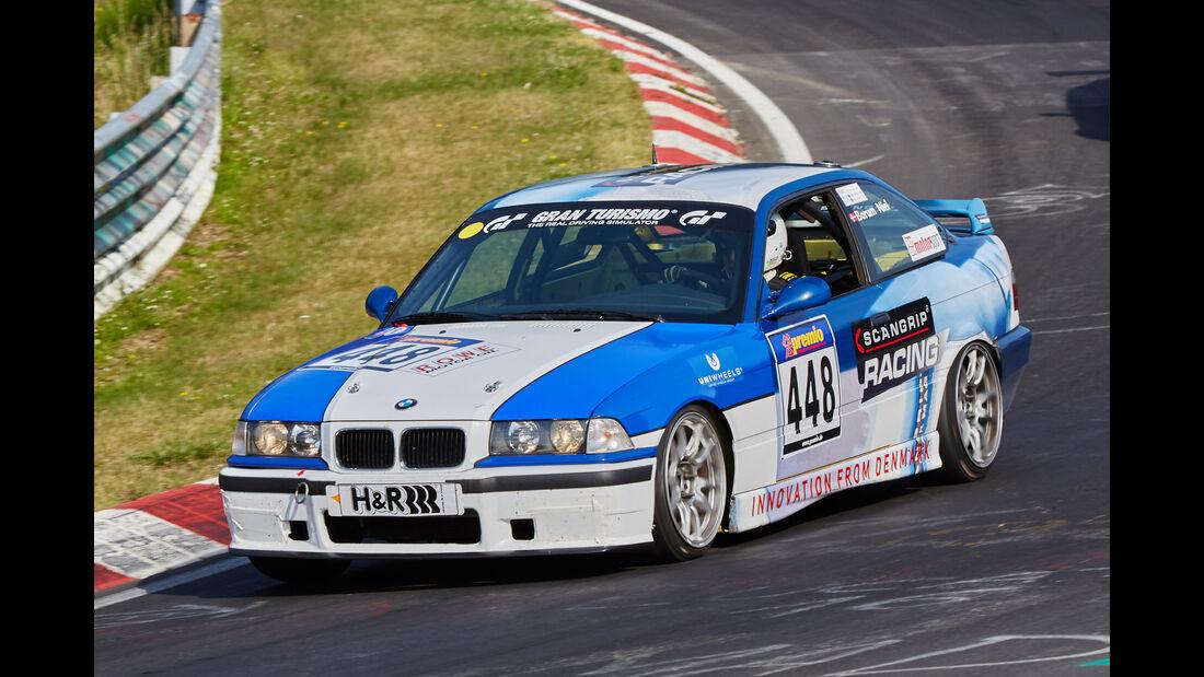 VLN 2015 - Nürburgring - BMW E36 - Startnummer #448 - V5