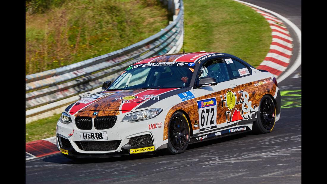 VLN 2015 - Nürburgring - BMW M235i Racing - Startnummer #672 - CUP5