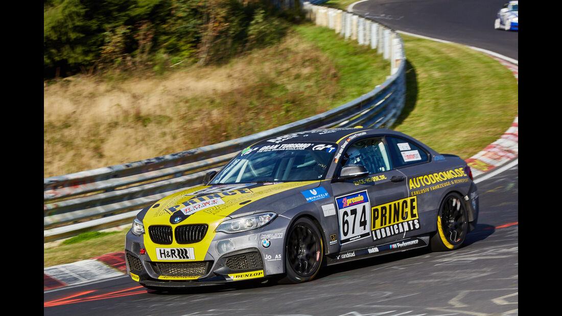 VLN 2015 - Nürburgring - BMW M235i Racing - Startnummer #674 - CUP5