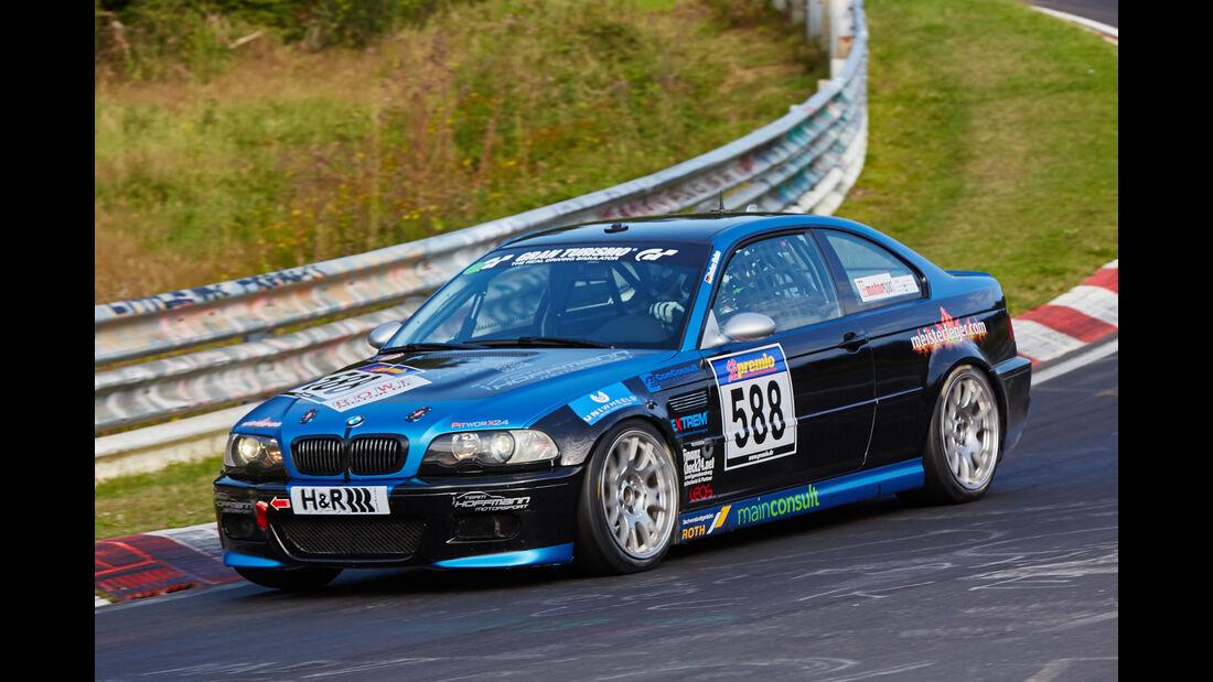 VLN 2015 - Nürburgring - BMW M3 - Startnummer #588 - H4