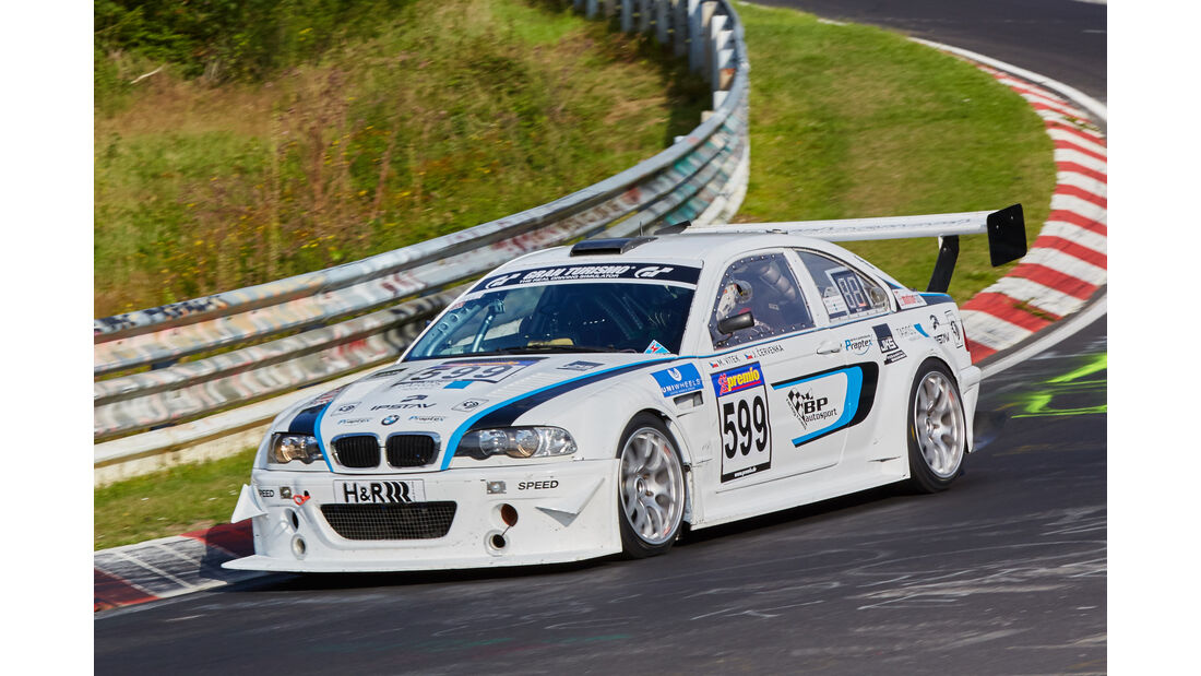 VLN 2015 - Nürburgring - BMW M3 - Startnummer #599 - H4