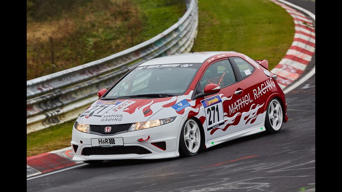 VLN 2015 - Nürburgring - Honda Civic Type-R - Startnummer #271 - SP3