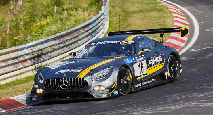 VLN 2015 - Nürburgring - Mercedes-AMG GT3 - Startnummer #16 - SPX