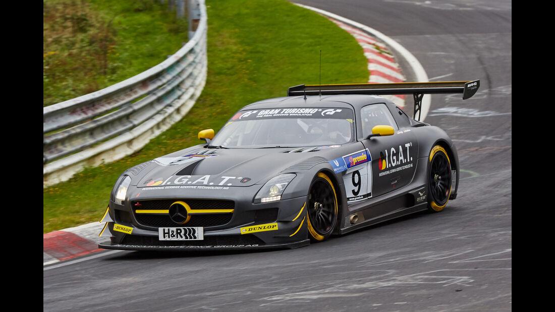 VLN 2015 - Nürburgring - Mercedes-Benz SLS AMG GT3 - Startnummer #9 - SP9