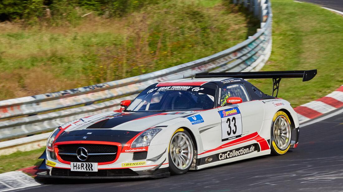 VLN 2015 - Nürburgring - Mercedes SLS AMG GT3 - Startnummer #33 - SP9