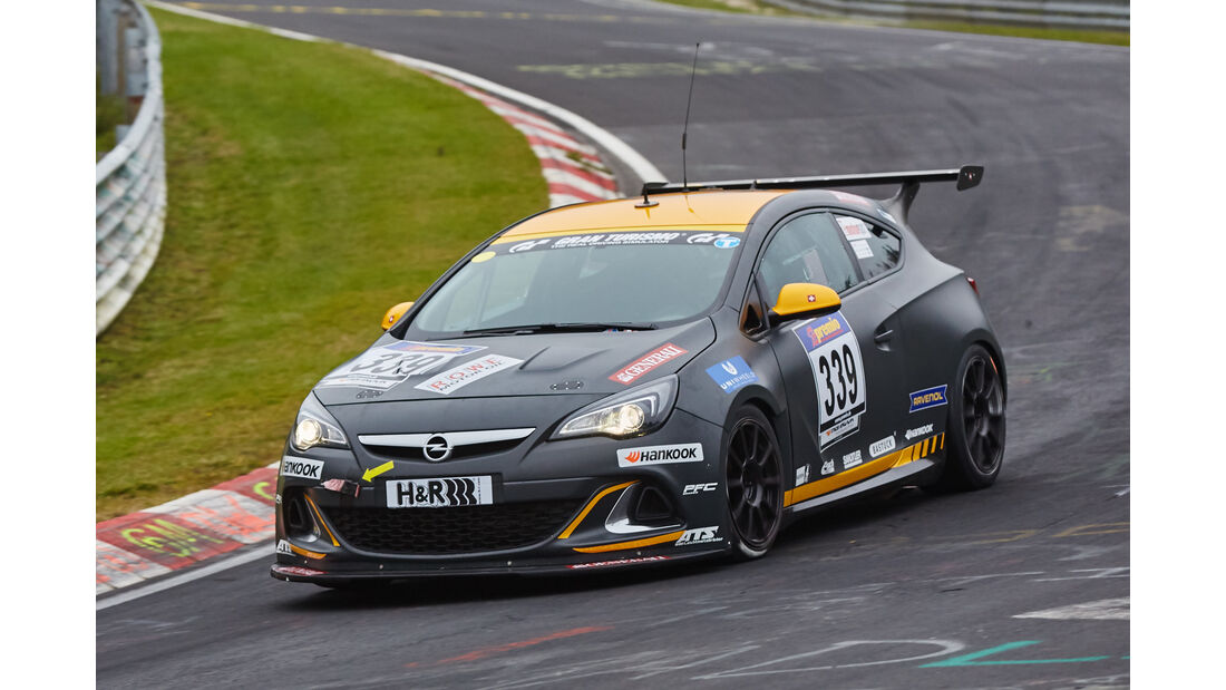 VLN 2015 - Nürburgring - Opel Astra OPC Cup - Startnummer #339 - CUP1
