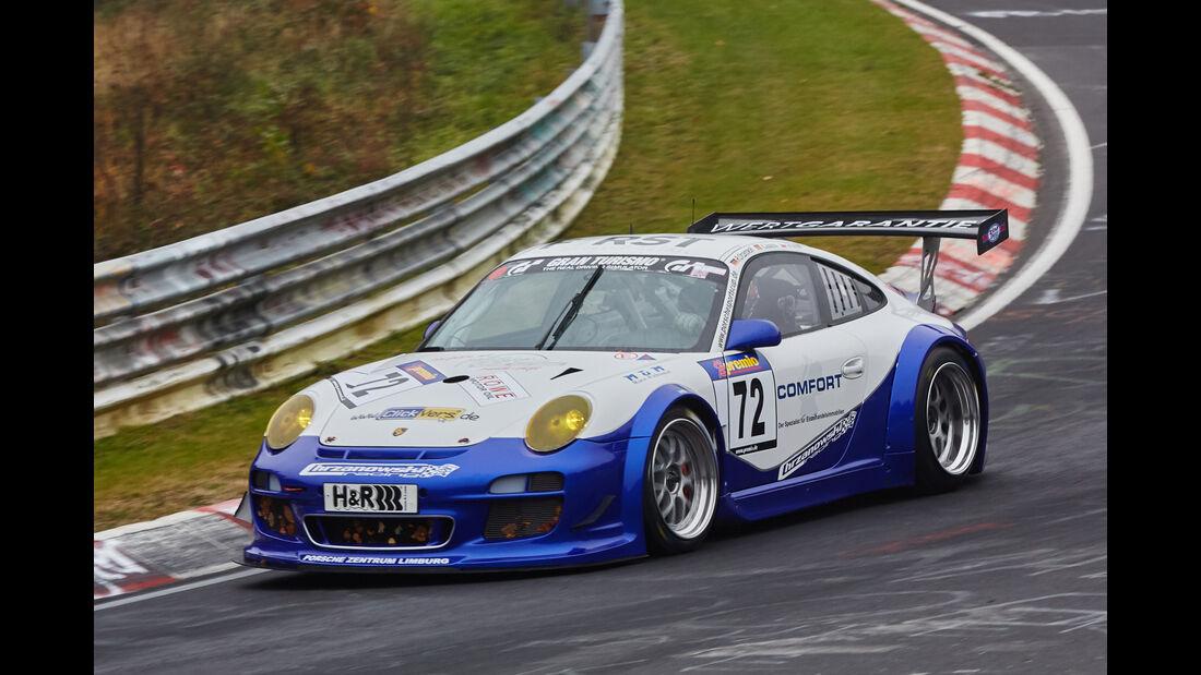 VLN 2015 - Nürburgring - Porsche 911 GT3 997 - Startnummer #72 - SP7