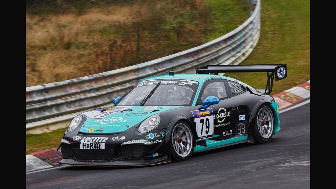 VLN 2015 - Nürburgring - Porsche 991 GT America - Startnummer #79 - SP7
