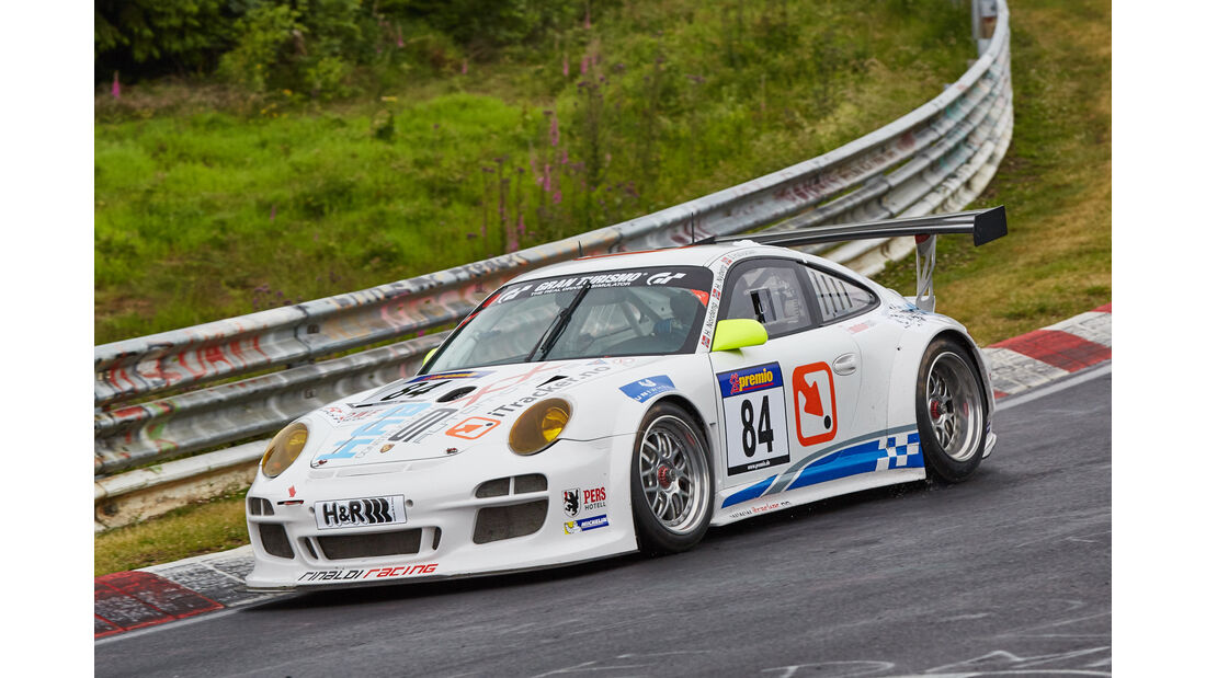 VLN 2015 - Nürburgring - Porsche 997 GT3 - Startnummer #84 - SP7