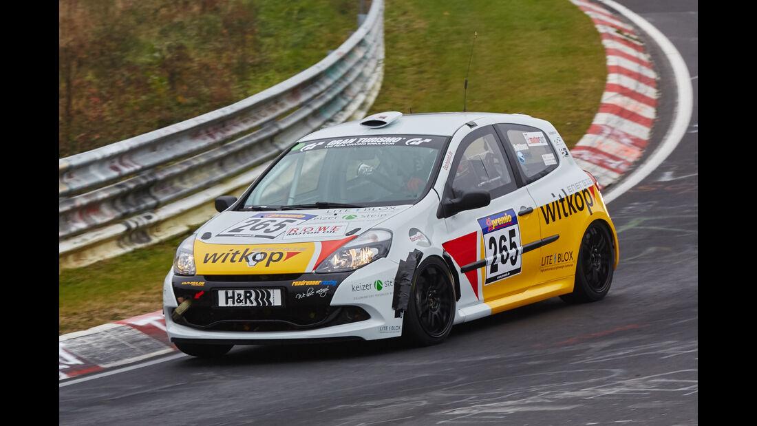 VLN 2015 - Nürburgring - Renault Clio Cup - Startnummer #265 - SP3