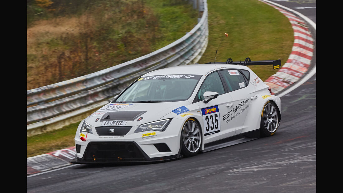 VLN 2015 - Nürburgring - Seat Leon Cup Racer - Startnummer #335 - SP3T