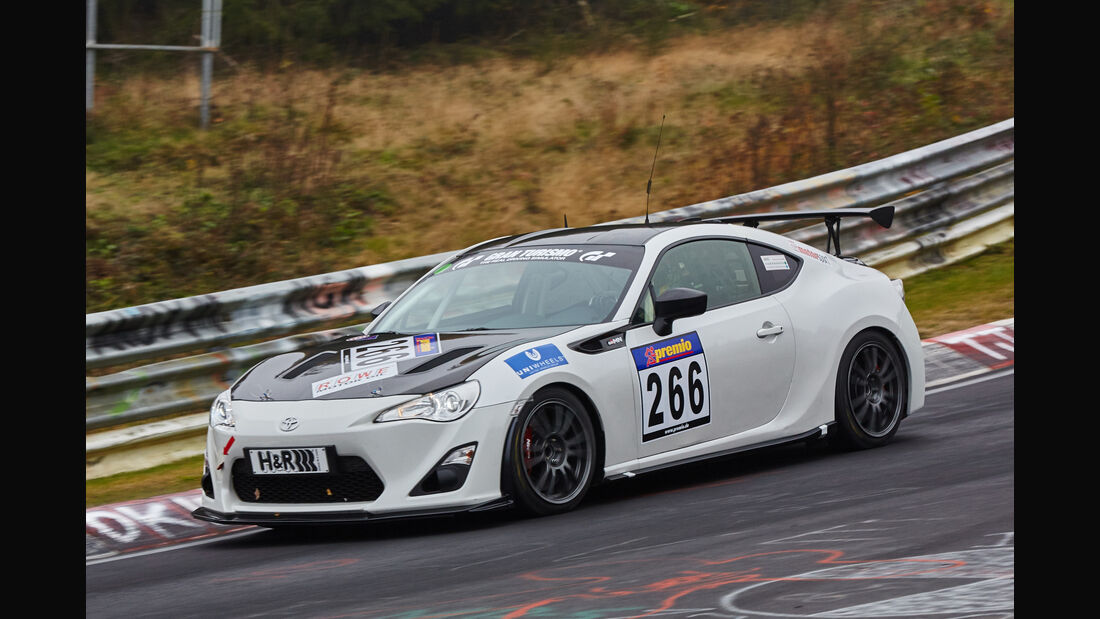 VLN 2015 - Nürburgring - Toyota GT86 - Startnummer #266 - SP3
