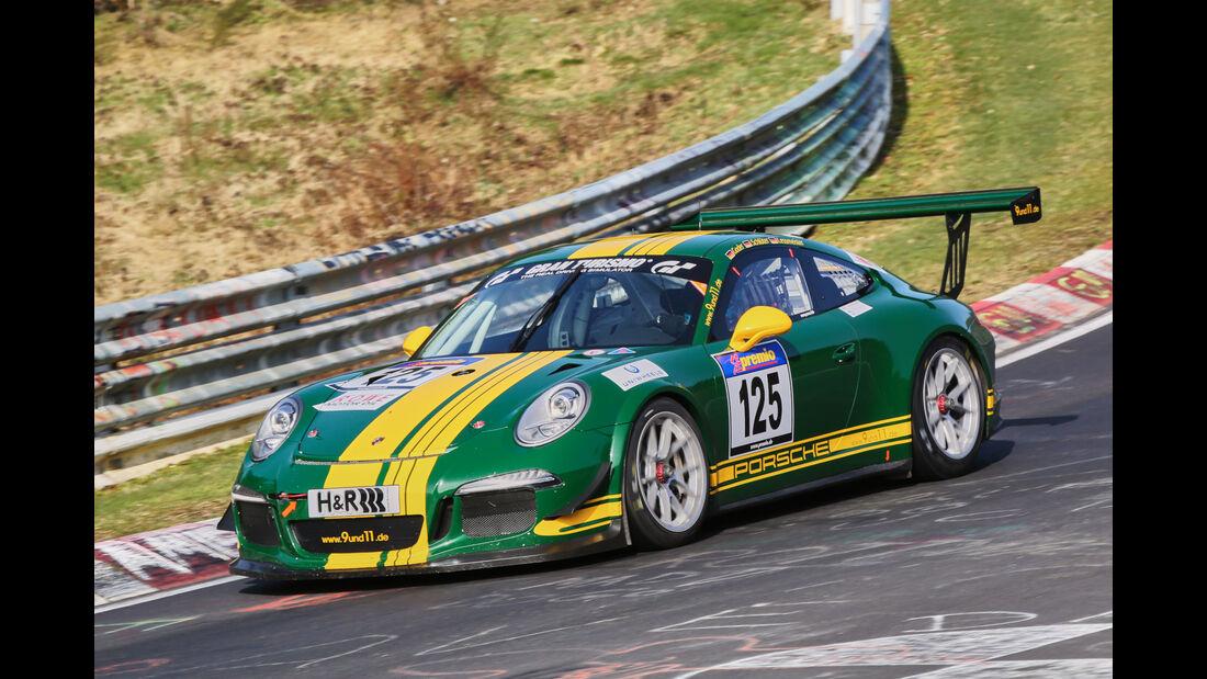 VLN 2016 - Nürburgring Nordschleife - Startnummer #125 - Porsche 991 GT3 Cup - CUP2