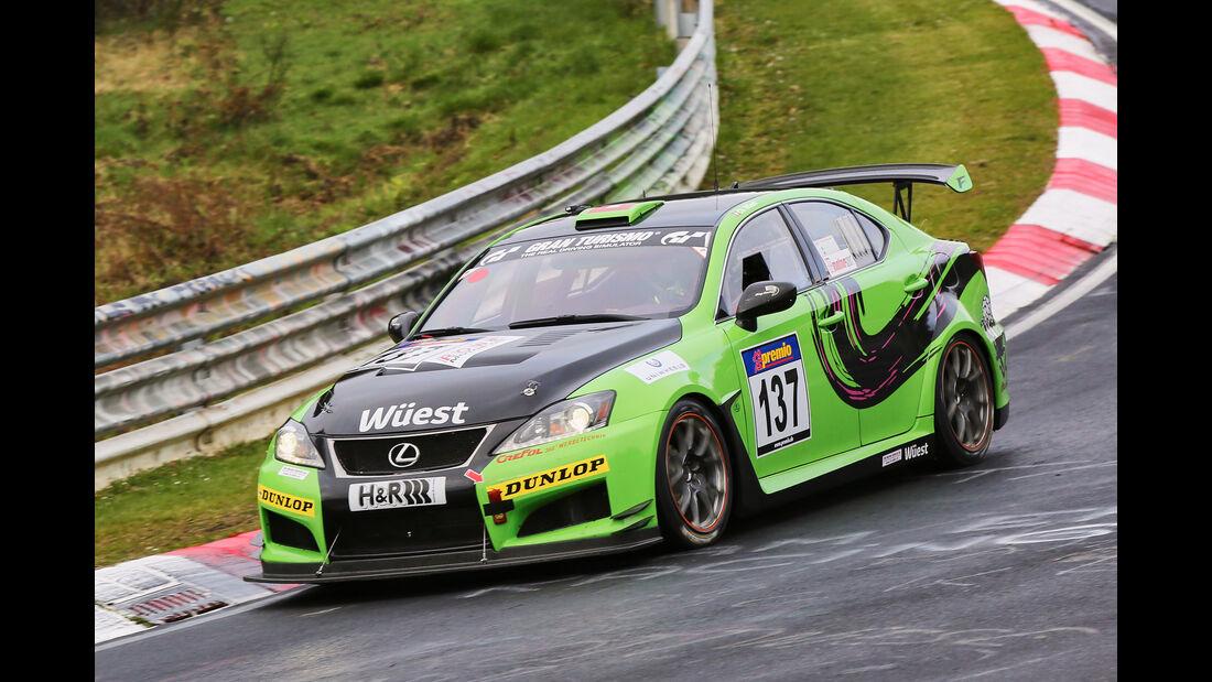 VLN 2016 - Nürburgring Nordschleife - Startnummer #137 - Lexus ISF CCS-R - SP8
