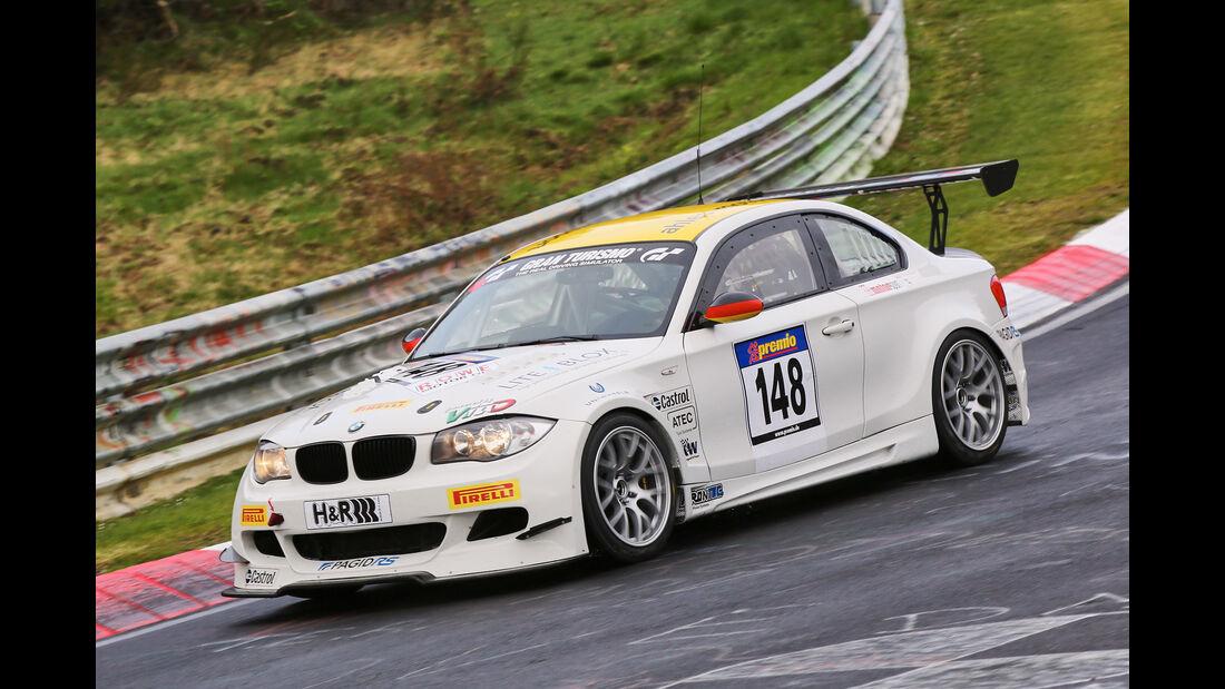VLN 2016 - Nürburgring Nordschleife - Startnummer #148 - BMW E82 - SP8