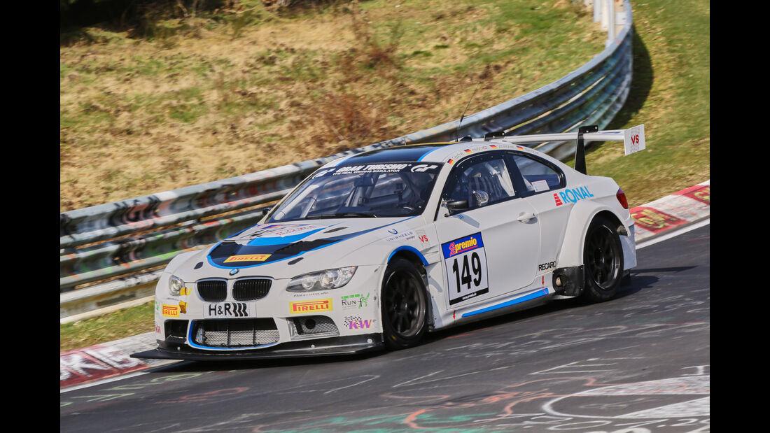 VLN 2016 - Nürburgring Nordschleife - Startnummer #149 - BMW M3 E92 - SP8