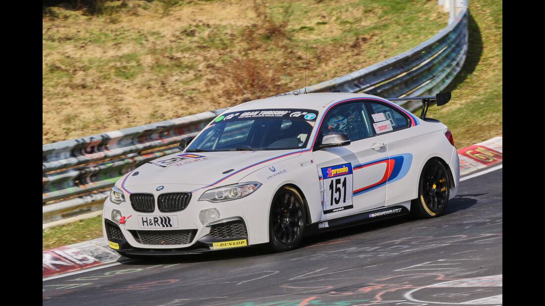 VLN 2016 - Nürburgring Nordschleife - Startnummer #151 - BMW M235i Racing - CUP5