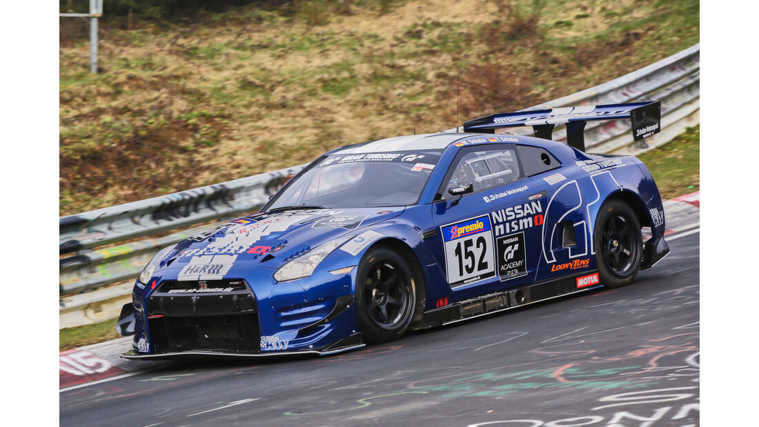 VLN 2016 - Nürburgring Nordschleife - Startnummer #152 - NISSAN GT-R - SP8T