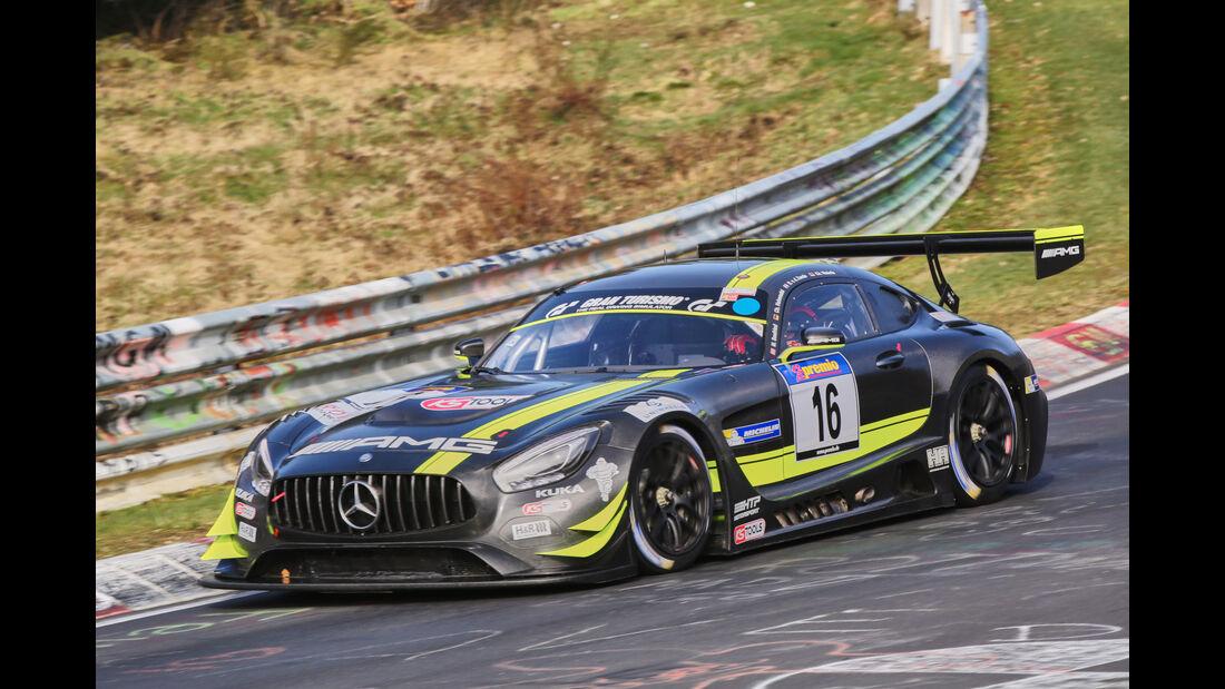 VLN 2016 - Nürburgring Nordschleife - Startnummer #16 - Mercedes-AMG GT3 - SP9