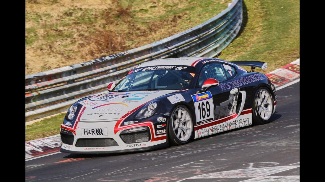 VLN 2016 - Nürburgring Nordschleife - Startnummer #169 - Porsche Cayman 981 GT4 CS - SPX