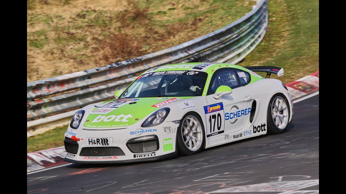 VLN 2016 - Nürburgring Nordschleife - Startnummer #170 - Porsche Cayman 981 GT4 CS - SPX