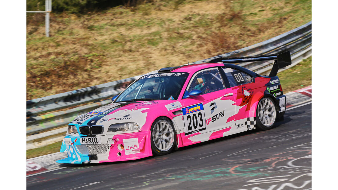 VLN 2016 - Nürburgring Nordschleife - Startnummer #203 - BMW M3 - SP6