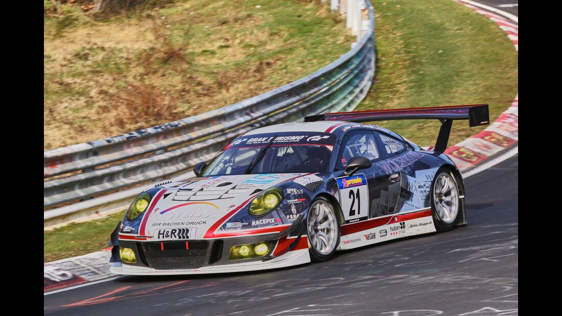VLN 2016 - Nürburgring Nordschleife - Startnummer #21 - Porsche 911 GT3 R - SP9